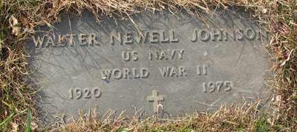 JOHNSON, WALTER NEWELL - Minnehaha County, South Dakota | WALTER NEWELL JOHNSON - South Dakota Gravestone Photos