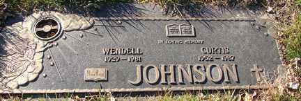 JOHNSON, WENDELL - Minnehaha County, South Dakota | WENDELL JOHNSON - South Dakota Gravestone Photos