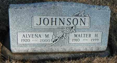 JOHNSON, WALTER HERBERT - Minnehaha County, South Dakota | WALTER HERBERT JOHNSON - South Dakota Gravestone Photos