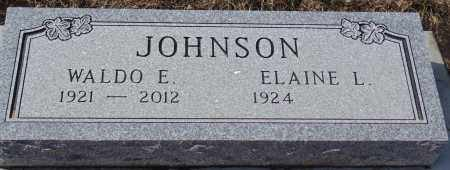 JOHNSON, ELAINE L. - Minnehaha County, South Dakota | ELAINE L. JOHNSON - South Dakota Gravestone Photos