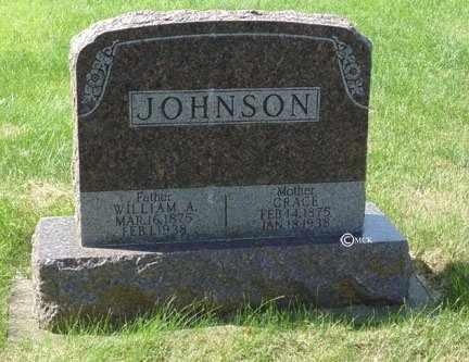 JOHNSON, GRACE - Minnehaha County, South Dakota | GRACE JOHNSON - South Dakota Gravestone Photos