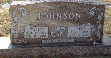 JOHNSON, WALLY - Minnehaha County, South Dakota | WALLY JOHNSON - South Dakota Gravestone Photos
