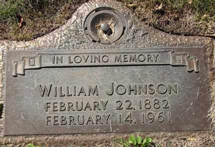 JOHNSON, WILLIAM - Minnehaha County, South Dakota | WILLIAM JOHNSON - South Dakota Gravestone Photos