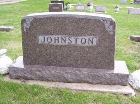 JOHNSTON, FAMILY MARKER - Minnehaha County, South Dakota   FAMILY MARKER JOHNSTON - South Dakota Gravestone Photos