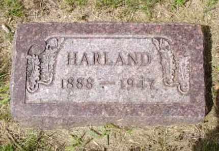 JOHNSTON, HARLAND - Minnehaha County, South Dakota | HARLAND JOHNSTON - South Dakota Gravestone Photos