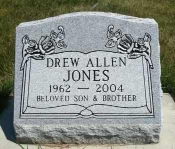 JONES, DREW ALLEN - Minnehaha County, South Dakota | DREW ALLEN JONES - South Dakota Gravestone Photos