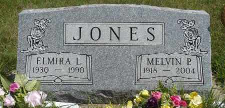 JONES, MELVIN P. - Minnehaha County, South Dakota | MELVIN P. JONES - South Dakota Gravestone Photos