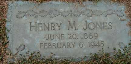JONES, HENRY M. - Minnehaha County, South Dakota   HENRY M. JONES - South Dakota Gravestone Photos
