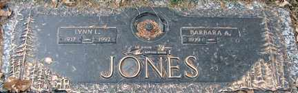 JONES, LYNN L. - Minnehaha County, South Dakota | LYNN L. JONES - South Dakota Gravestone Photos