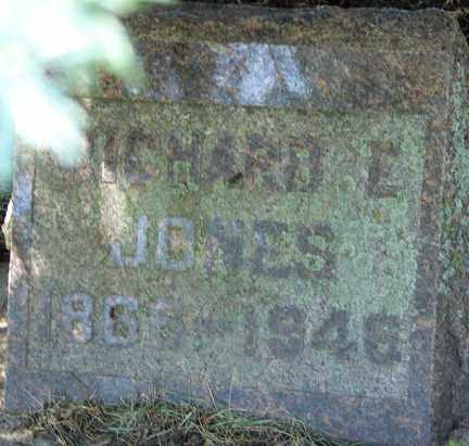 JONES, RICHARD E. - Minnehaha County, South Dakota | RICHARD E. JONES - South Dakota Gravestone Photos