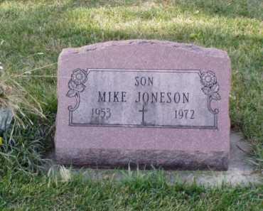 JONESON, MIKE - Minnehaha County, South Dakota | MIKE JONESON - South Dakota Gravestone Photos