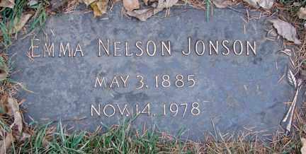 NELSON JONSON, EMMA - Minnehaha County, South Dakota   EMMA NELSON JONSON - South Dakota Gravestone Photos