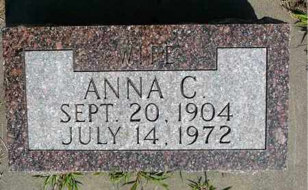 JORDAHL, ANNA C. - Minnehaha County, South Dakota | ANNA C. JORDAHL - South Dakota Gravestone Photos