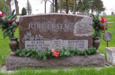 JORGENSEN, ELAINE - Minnehaha County, South Dakota | ELAINE JORGENSEN - South Dakota Gravestone Photos