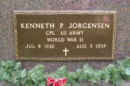 JORGENSEN, KENNETH P. - Minnehaha County, South Dakota | KENNETH P. JORGENSEN - South Dakota Gravestone Photos