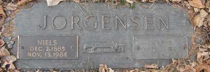 JORGENSEN, NIELS - Minnehaha County, South Dakota | NIELS JORGENSEN - South Dakota Gravestone Photos