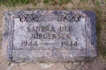 JORGENSEN, SANDRA DEE - Minnehaha County, South Dakota | SANDRA DEE JORGENSEN - South Dakota Gravestone Photos