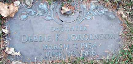 JORGENSON, DEBBIE K. - Minnehaha County, South Dakota | DEBBIE K. JORGENSON - South Dakota Gravestone Photos