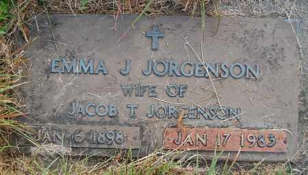 JORGENSON, EMMA J. - Minnehaha County, South Dakota   EMMA J. JORGENSON - South Dakota Gravestone Photos