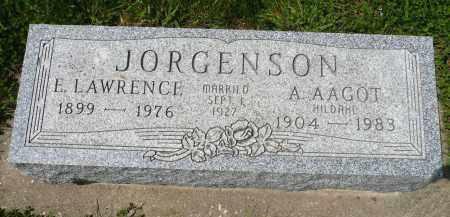 JORGENSON, E. LAWRENCE - Minnehaha County, South Dakota | E. LAWRENCE JORGENSON - South Dakota Gravestone Photos