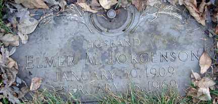 JORGENSON, ELMER M. - Minnehaha County, South Dakota | ELMER M. JORGENSON - South Dakota Gravestone Photos