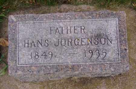 JORGENSON, HANS - Minnehaha County, South Dakota | HANS JORGENSON - South Dakota Gravestone Photos