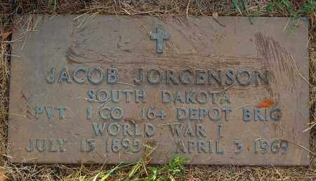 JORGENSON, JACOB - Minnehaha County, South Dakota | JACOB JORGENSON - South Dakota Gravestone Photos