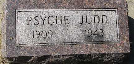 JUDD, PSYCHE - Minnehaha County, South Dakota   PSYCHE JUDD - South Dakota Gravestone Photos