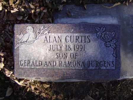 JURGENS, ALAN CURTIS - Minnehaha County, South Dakota | ALAN CURTIS JURGENS - South Dakota Gravestone Photos