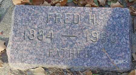 JURGENSEN, FRED H. - Minnehaha County, South Dakota | FRED H. JURGENSEN - South Dakota Gravestone Photos