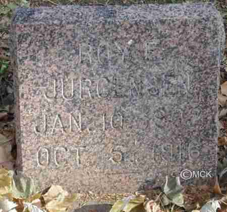 JURGENSEN, ROY - Minnehaha County, South Dakota | ROY JURGENSEN - South Dakota Gravestone Photos