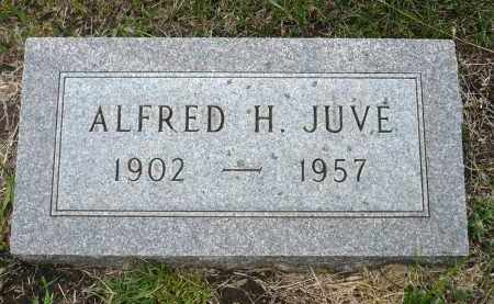 JUVE, ALFRED H. - Minnehaha County, South Dakota | ALFRED H. JUVE - South Dakota Gravestone Photos