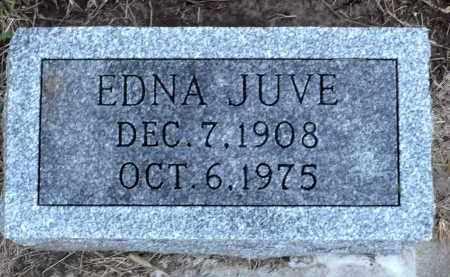 JUVE, EDNA - Minnehaha County, South Dakota | EDNA JUVE - South Dakota Gravestone Photos