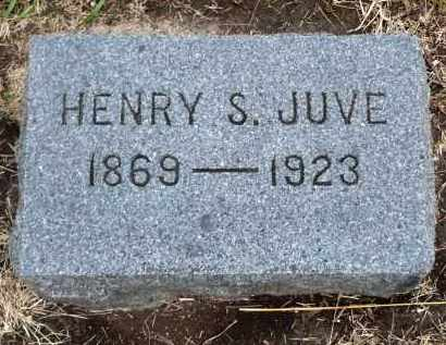JUVE, HENRY S. - Minnehaha County, South Dakota   HENRY S. JUVE - South Dakota Gravestone Photos