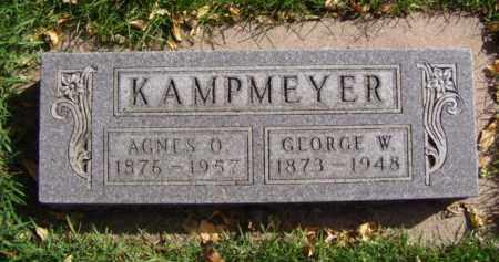 KAMPMEYER, GEORGE W. - Minnehaha County, South Dakota | GEORGE W. KAMPMEYER - South Dakota Gravestone Photos