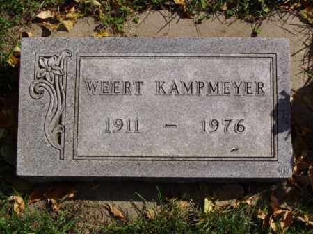 KAMPMEYER, WEERT - Minnehaha County, South Dakota | WEERT KAMPMEYER - South Dakota Gravestone Photos