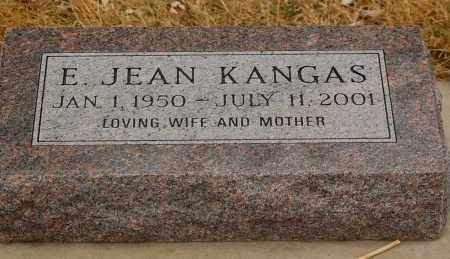 KANGAS, E. JEAN - Minnehaha County, South Dakota | E. JEAN KANGAS - South Dakota Gravestone Photos