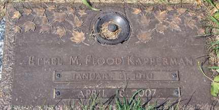 KAPPERMAN, ETHEL M. - Minnehaha County, South Dakota | ETHEL M. KAPPERMAN - South Dakota Gravestone Photos