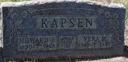 KAPSEN, VERA M. - Minnehaha County, South Dakota | VERA M. KAPSEN - South Dakota Gravestone Photos