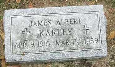 KARLEY, JAMES ALBERT - Minnehaha County, South Dakota | JAMES ALBERT KARLEY - South Dakota Gravestone Photos