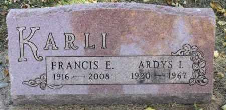 KARLI, ARDYS I. - Minnehaha County, South Dakota | ARDYS I. KARLI - South Dakota Gravestone Photos