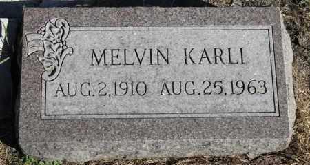 KARLI, MELVIN - Minnehaha County, South Dakota | MELVIN KARLI - South Dakota Gravestone Photos