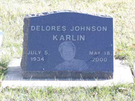 JOHNSON KARLIN, DELORES - Minnehaha County, South Dakota | DELORES JOHNSON KARLIN - South Dakota Gravestone Photos
