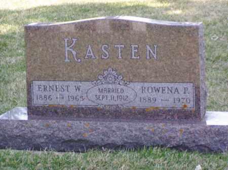 KASTEN, ROWENA P. - Minnehaha County, South Dakota | ROWENA P. KASTEN - South Dakota Gravestone Photos