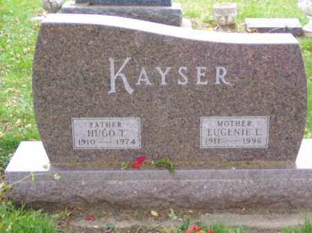 KAYSER, HUGO T. - Minnehaha County, South Dakota | HUGO T. KAYSER - South Dakota Gravestone Photos