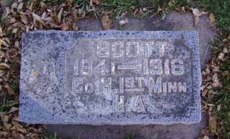 KEEFER, SCOTT - Minnehaha County, South Dakota   SCOTT KEEFER - South Dakota Gravestone Photos