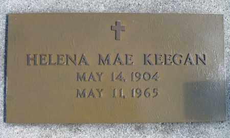 FITZGERALD KEEGEN, HELENA MAE - Minnehaha County, South Dakota   HELENA MAE FITZGERALD KEEGEN - South Dakota Gravestone Photos