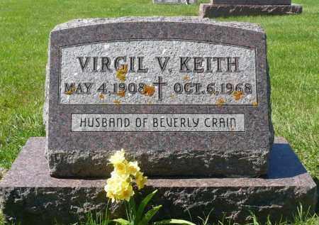 KEITH, VIRGIL V. - Minnehaha County, South Dakota | VIRGIL V. KEITH - South Dakota Gravestone Photos