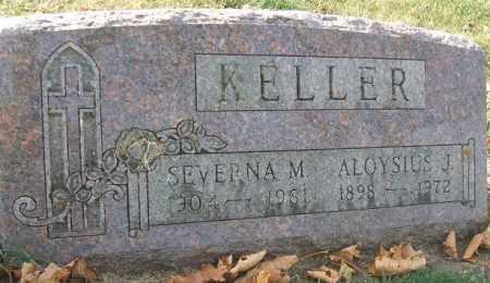KELLER, SEVERNA M. - Minnehaha County, South Dakota   SEVERNA M. KELLER - South Dakota Gravestone Photos