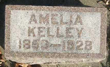 KELLEY, AMELIA - Minnehaha County, South Dakota | AMELIA KELLEY - South Dakota Gravestone Photos